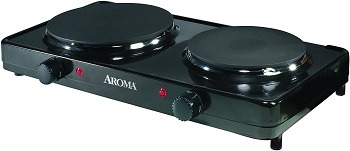 Aroma Two-Burner Plate Review
