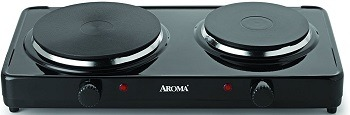 Aroma Two-Burner Plate
