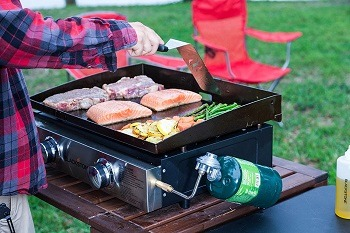 BLackstone Hot Plate Outdoor Review