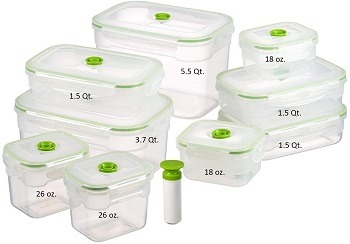 Lasting Freshness Vacuum Seal Containers Review