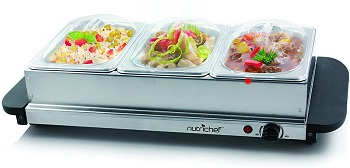 NutriChef 3 Plate Warmer Review