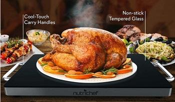 NutriChef Food Warming Tray