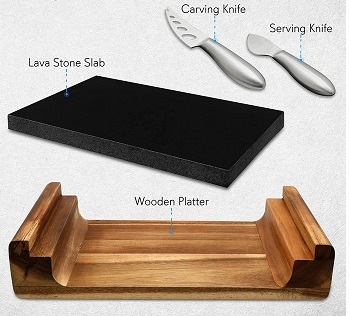NutriChef Stone Hot Plate
