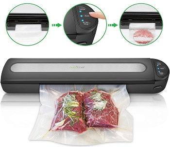 Nutrichef Automatic Vacuum Sealer System Review