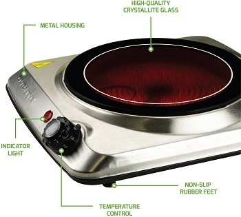 Ovente Hot Plate