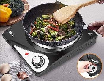 CUKOR Camping Hot Plate Review