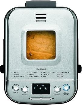 Cuisinart Stainless Steel Bread Maker Review