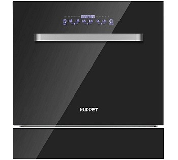KUPPET Black Stainless Steel Dishwasher