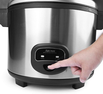 Aroma 60-Cup Rice Cooker