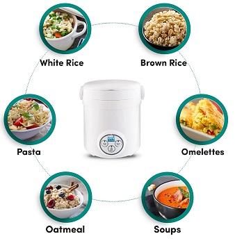 Aroma Mi Single Portion Rice Cooker