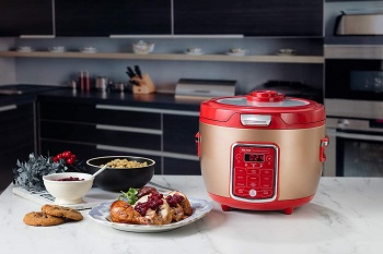 Aroma Professional Red Cooker Review