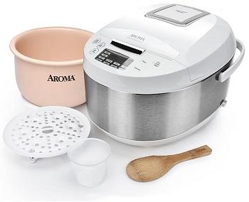 Aroma Rice Cooker Ceramic Pot Review