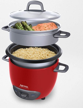 Aroma Rice Cooker Red Review