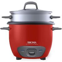 Aroma Rice Cooker Red Rundown