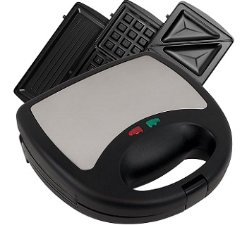 Chef Buddy 3-in-1 Waffle Maker