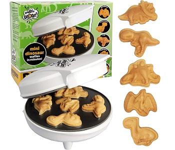 CucinaPro Dinosaur Mini Waffle Maker