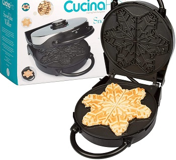 CucinaPro Snowflake Waffle Maker Review