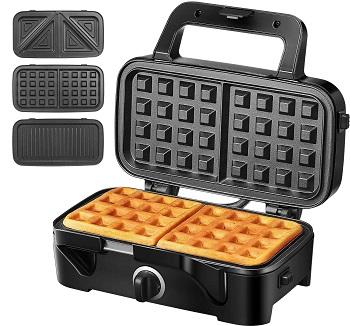 Decen 3-in-1 Waffle Maker
