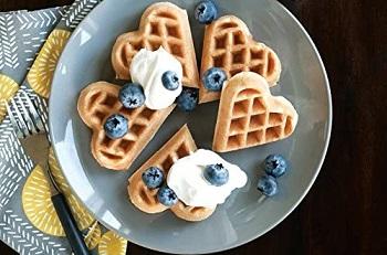 Nordic Ware Sweetheart Waffler Review