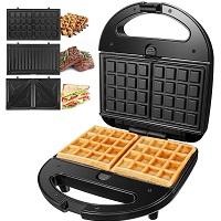 OSTBA 3-in-1 Waffle Iron Rundown