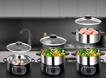 Secura Steamer Cooker Review