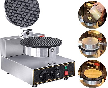 TFCFL Cone Waffle Maker Review