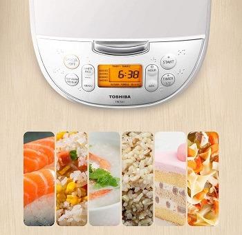 Toshiba Rice Cooker Timer