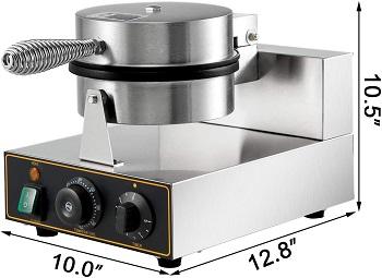 VBENLEM Round Waffle Maker