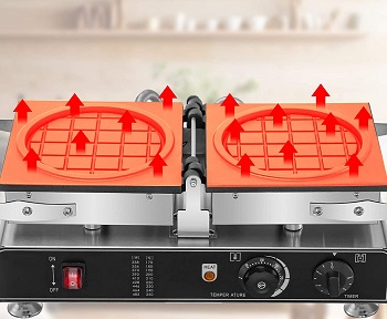 VEVOR Reversible Waffle Maker Review