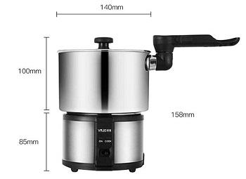 VRJOHN Mini Rice Cooker Review