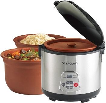 VitaClay Teflon-Free Rice Cooker