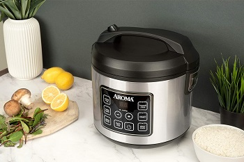 Aroma 20-cup Rice Cooker Review