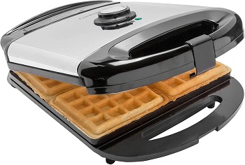 CucinaPro 4-Slice Waffle Maker Review