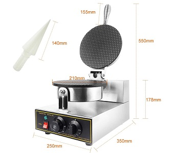 Dyna-Living Ice Cream Waffle Cone Machine Review