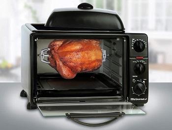 Elite Toaster Oven Rotisserie Review