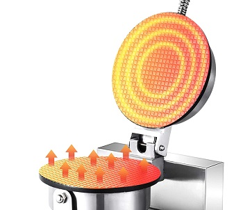 Happybuy Ice Cream Waffle Cone Maker Review