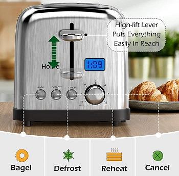Holife 2-Slice Toaster
