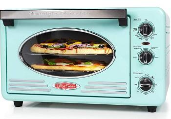 Nostalgia Toaster Oven, Aqua Review
