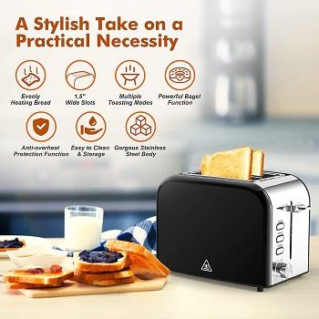 Pipigo Wide Slot ToasterReview