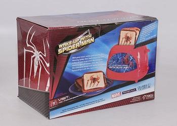 Spiderman Toaster Amazing Spiderman Design Review