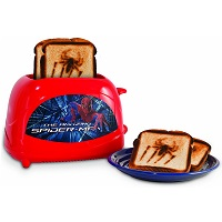 Spiderman Toaster Amazing Spiderman Design Rundown