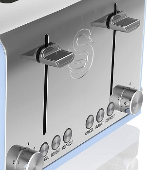 Swan Retro 4-Slice Toaster