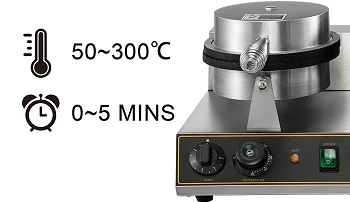 VBENLEM Ice Cream Cone Waffle Maker Review