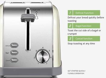 Yabano 2-Slice Toaster