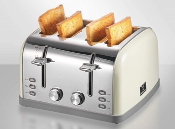 Yabano 4-Slice Retro Toaster Review