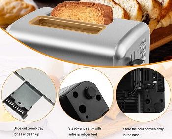 iFedio 2-Slice Toaster