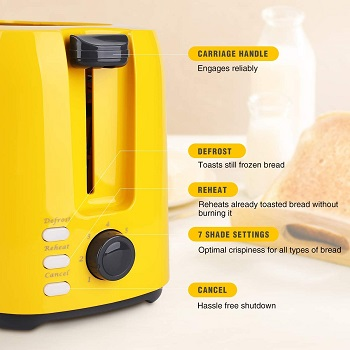 iSiler 2-Slice Toaster