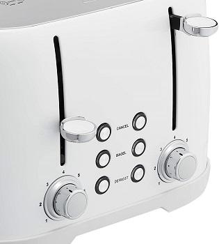 AmazonBasics TA5728C-W Toaster