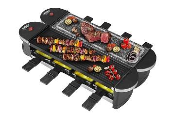 Artestia Dual Raclette Grill