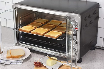 Elite Gourmet Toaster Oven, 45L Review